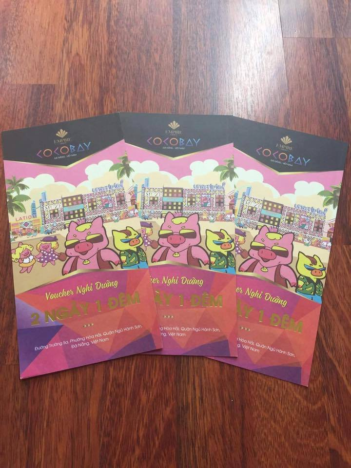 voucher dat phong Khách sạn bisou cocobay Đà Nẵng